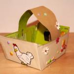 Creation d'un panier pour Pâques 3