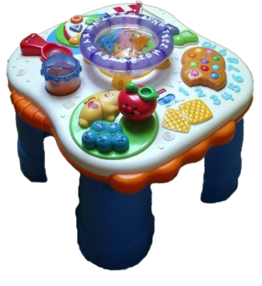 table activité fisher price