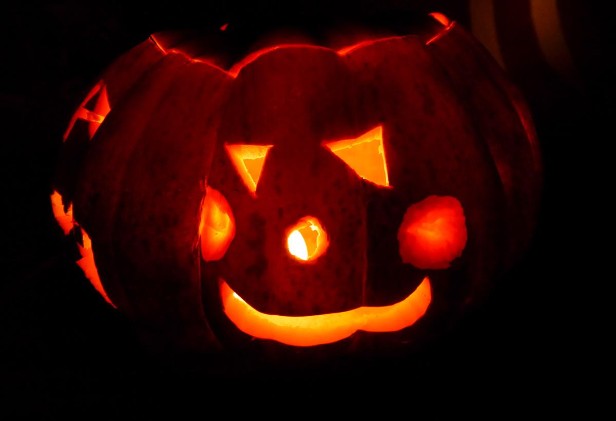 Citrouille pour halloween décor