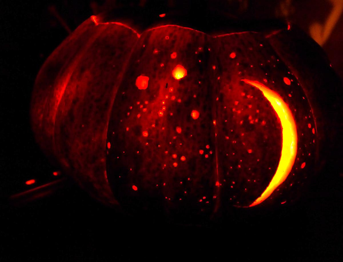 Citrouille pour halloween décoration