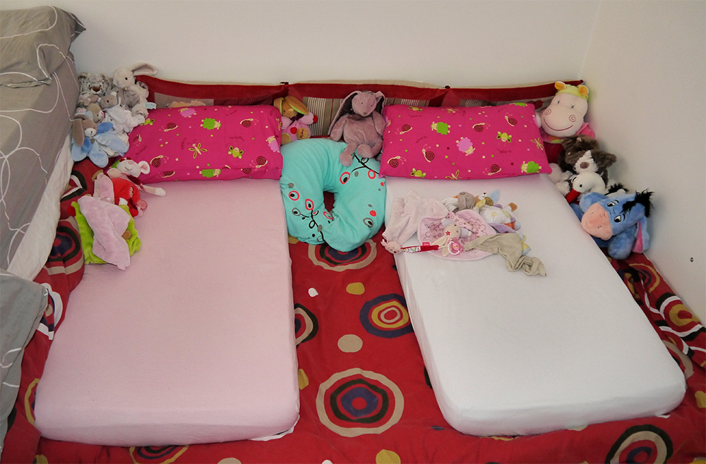 Le lit montessori les activit s de maman for Lit montessori