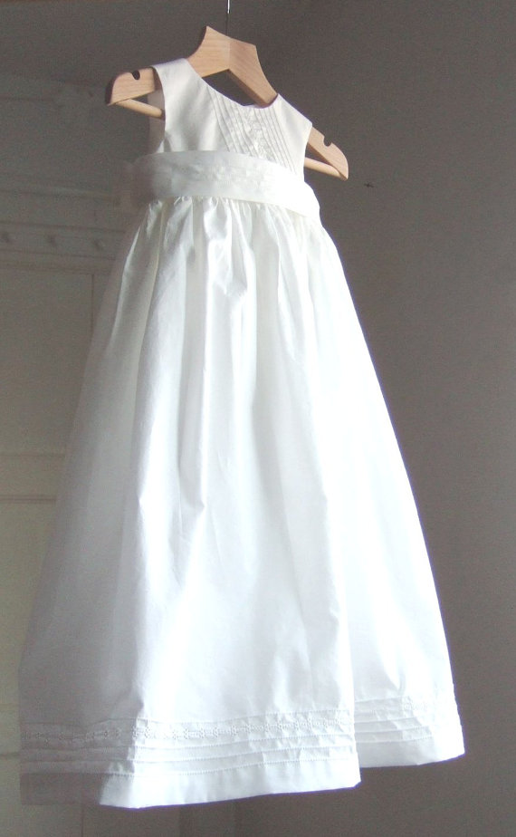 La robe de baptême