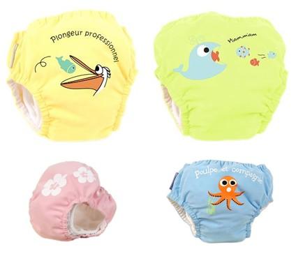 accessoires pour la piscine couches lavables