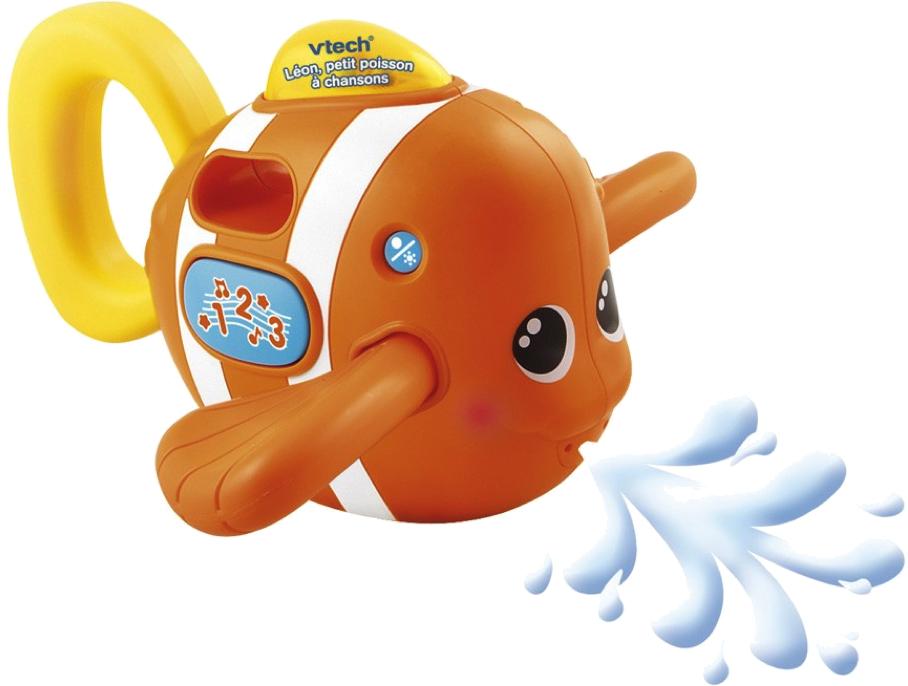 jeu de bain poisson léon