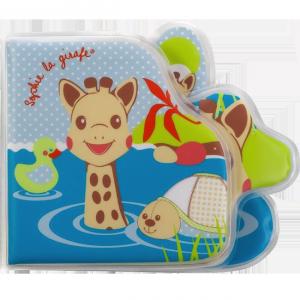 Sophie la girafe livre bain