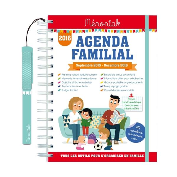[Test] Agenda familial
