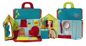 Sophie la girafe maison ouverte