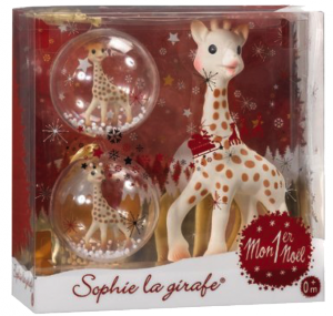 Sophie la girafe noel