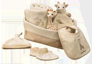 Sophie la girafe set naissance