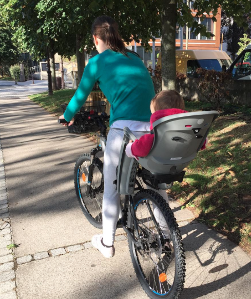 siege hamax vélo