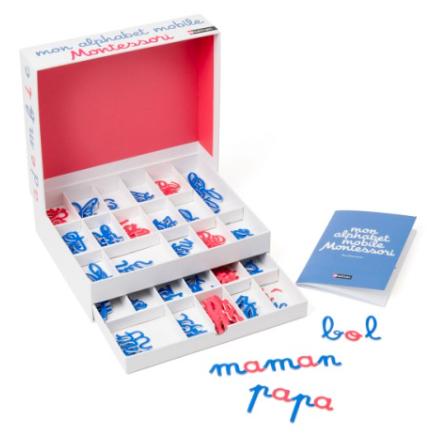 Mon alphabet mobile Montessori