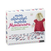 coffret Mon alphabet mobile Montessori