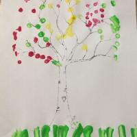 le printemps arbre motricité fine