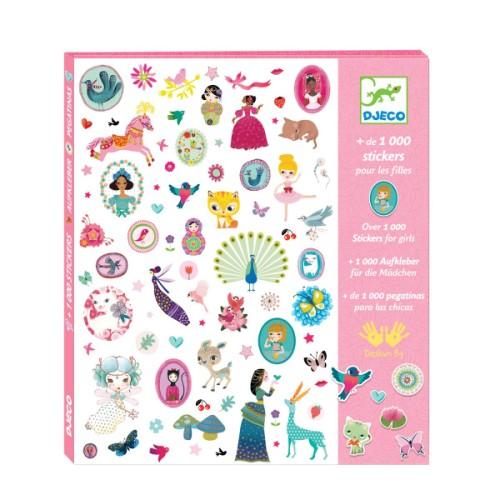 Cadeau pour une fille de 2 ans stickers