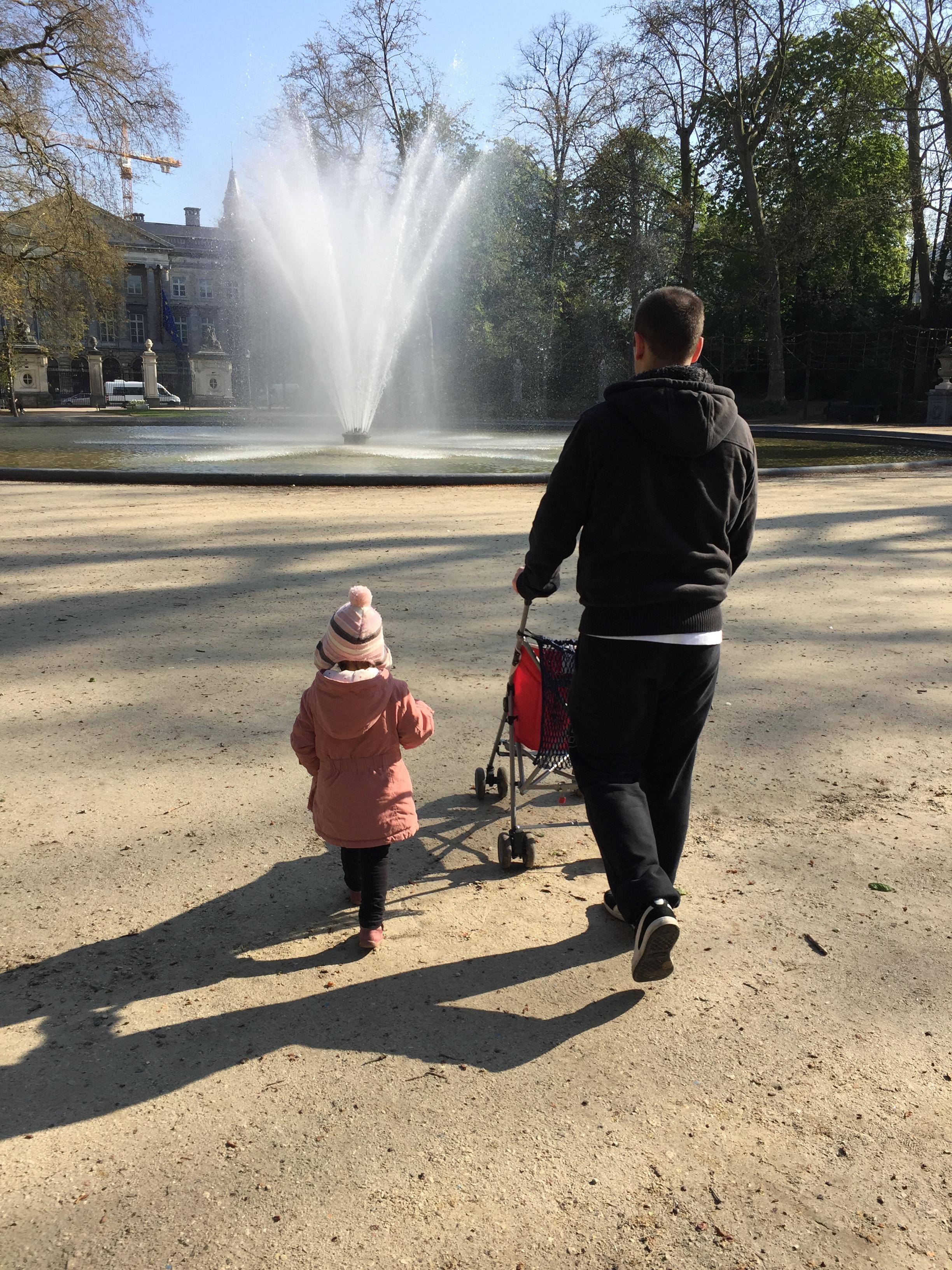 1 journée à Bruxelles parc