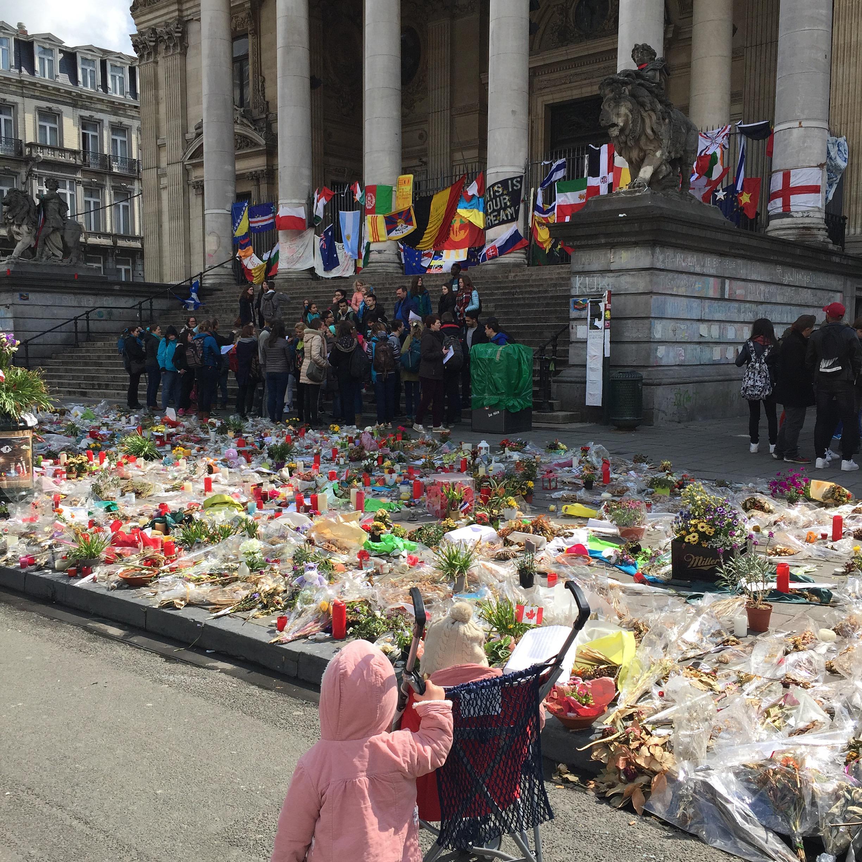 1 journée à Bruxelles hommage