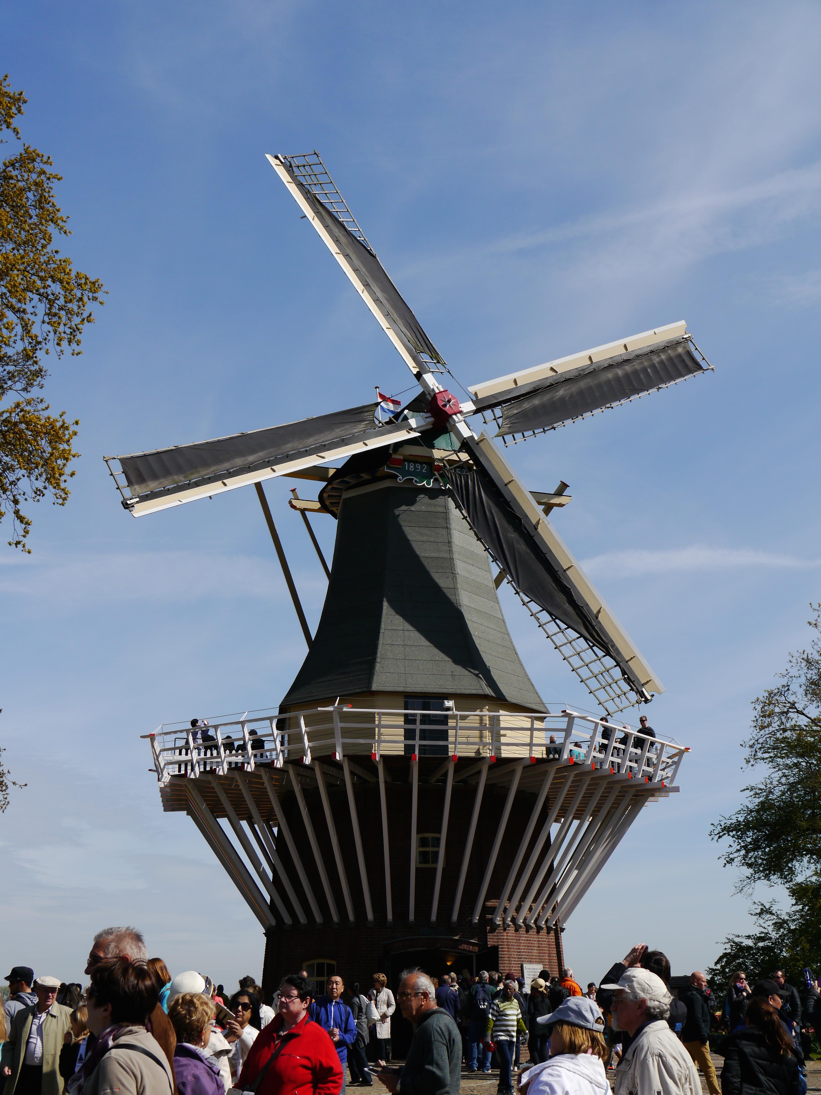 En route pour Rotterdam moulin