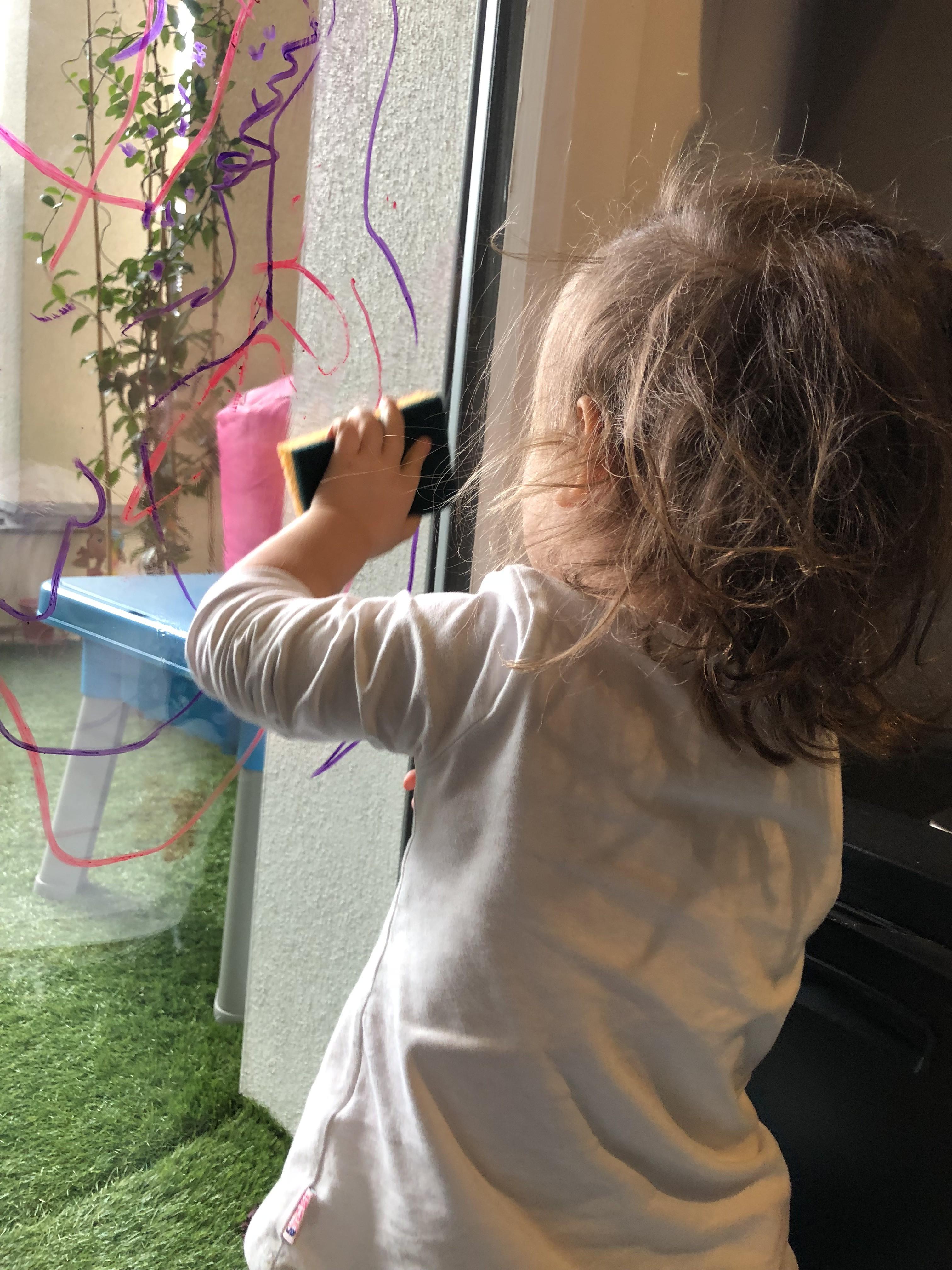 Play Color  peinture fenêtre