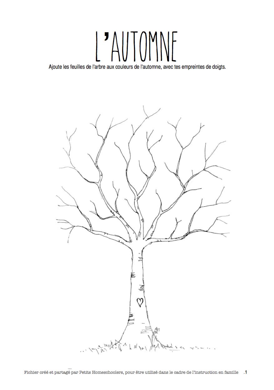 arbre au printemps les activit s de maman. Black Bedroom Furniture Sets. Home Design Ideas