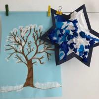 activités sur l'hiver décoration ief