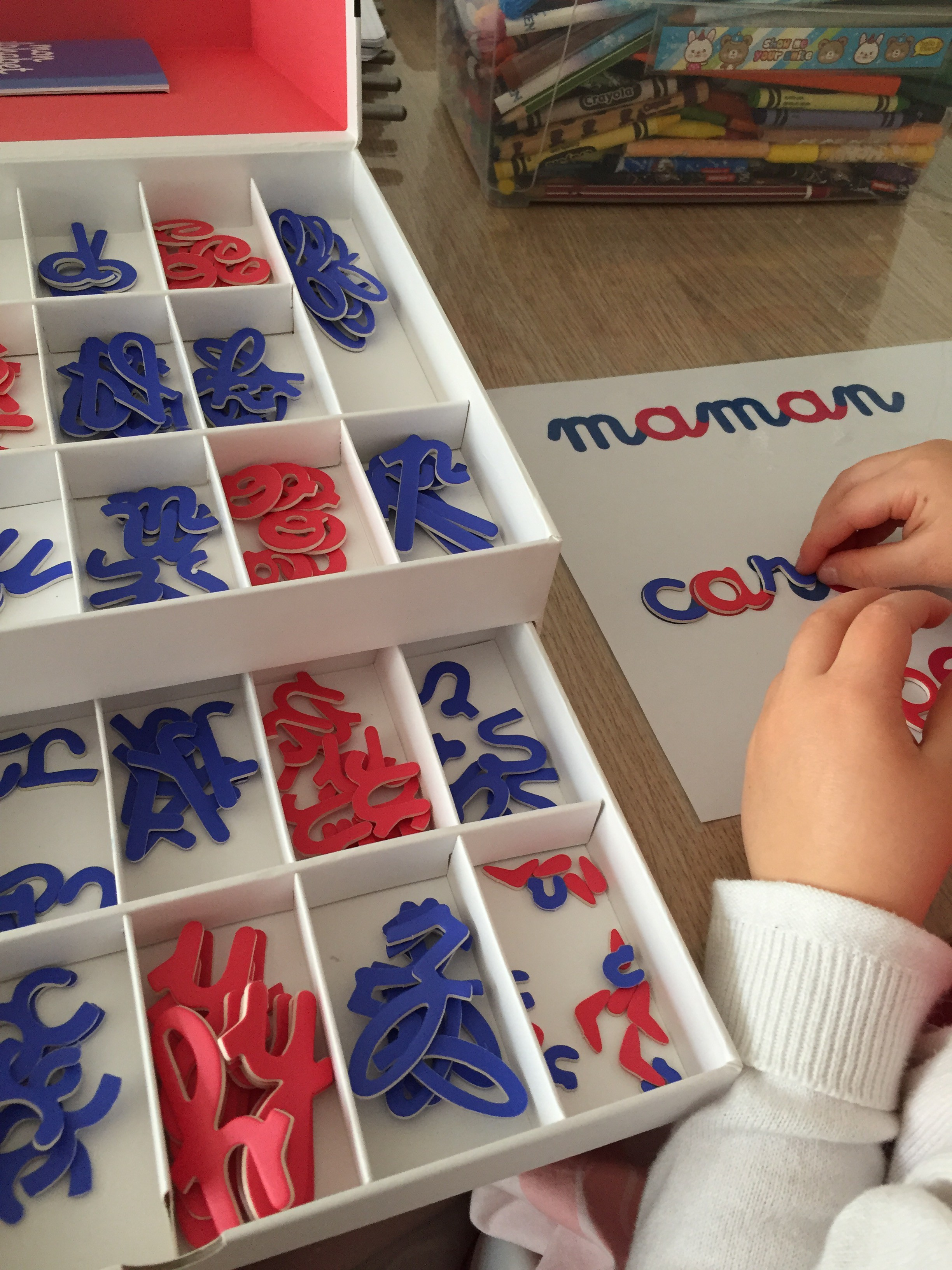 Mon alphabet mobile Montessori lettres