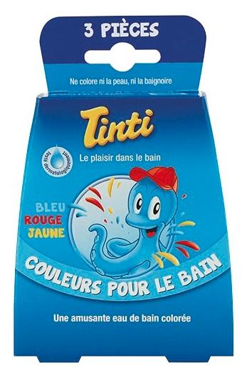 Bain coloré
