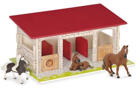 Ecurie et chevaux
