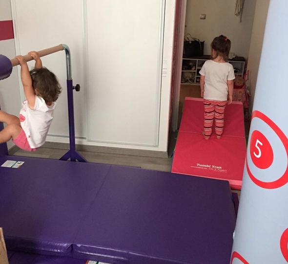 Gymnastique les activit s de maman for Barre fixe enfant