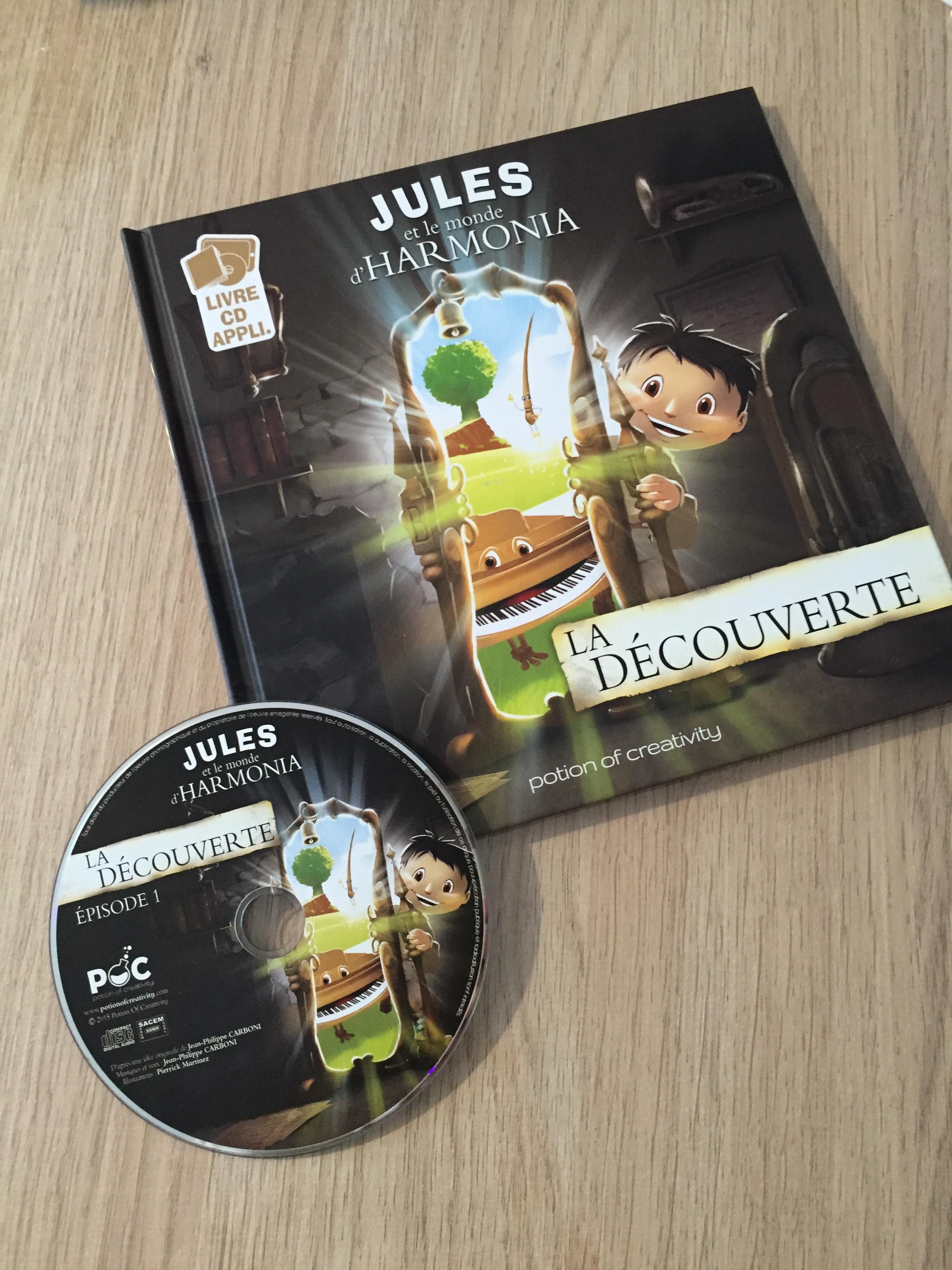 Jules et le monde d'Harmonia livre