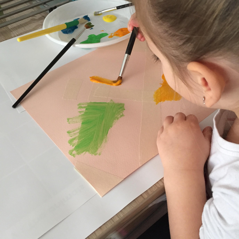 Créer un tableau peinture