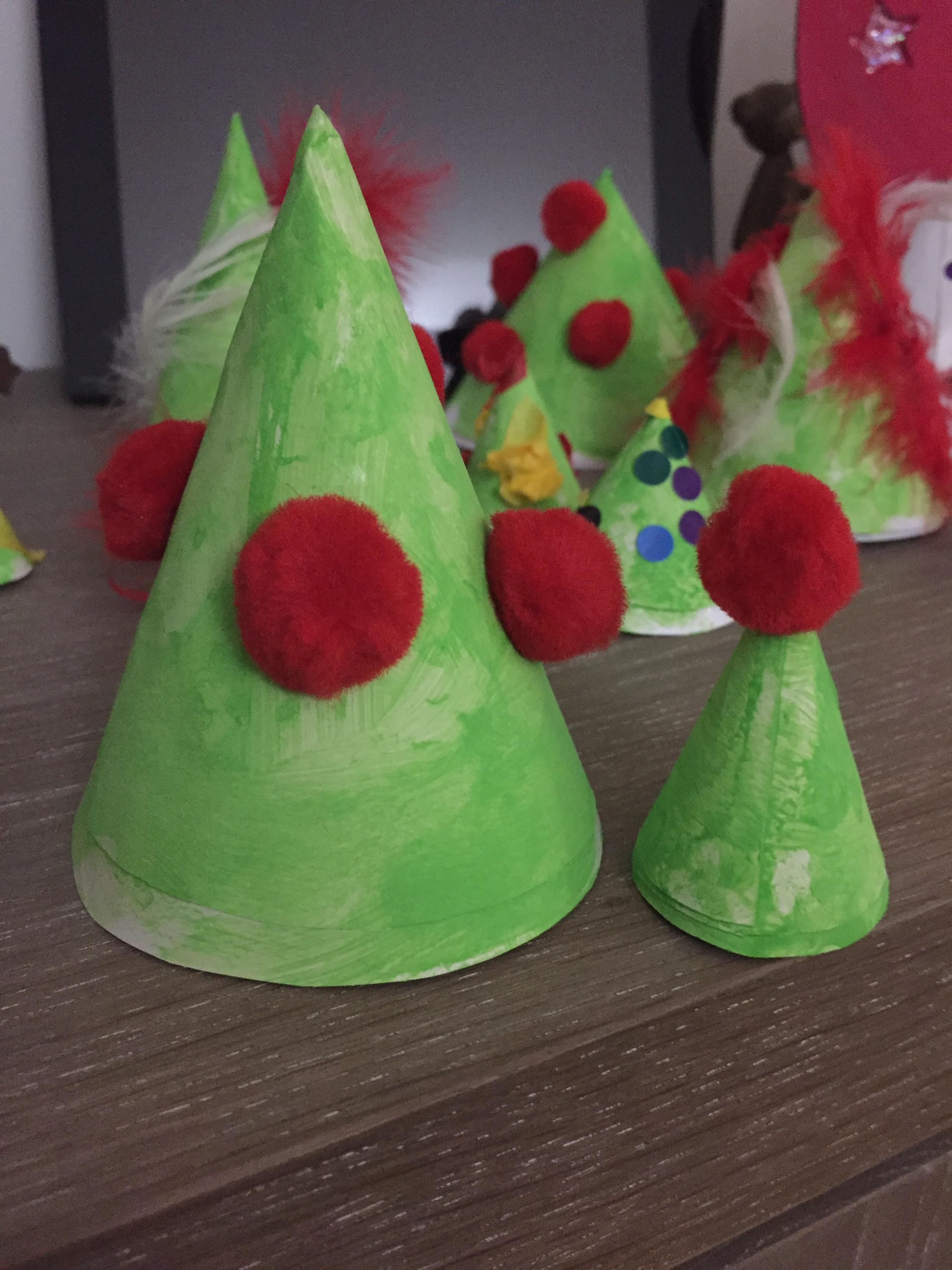 forêt de Noël diy décoration enfant