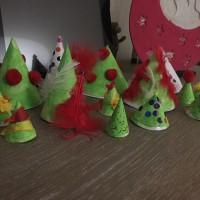 forêt de Noël décoration