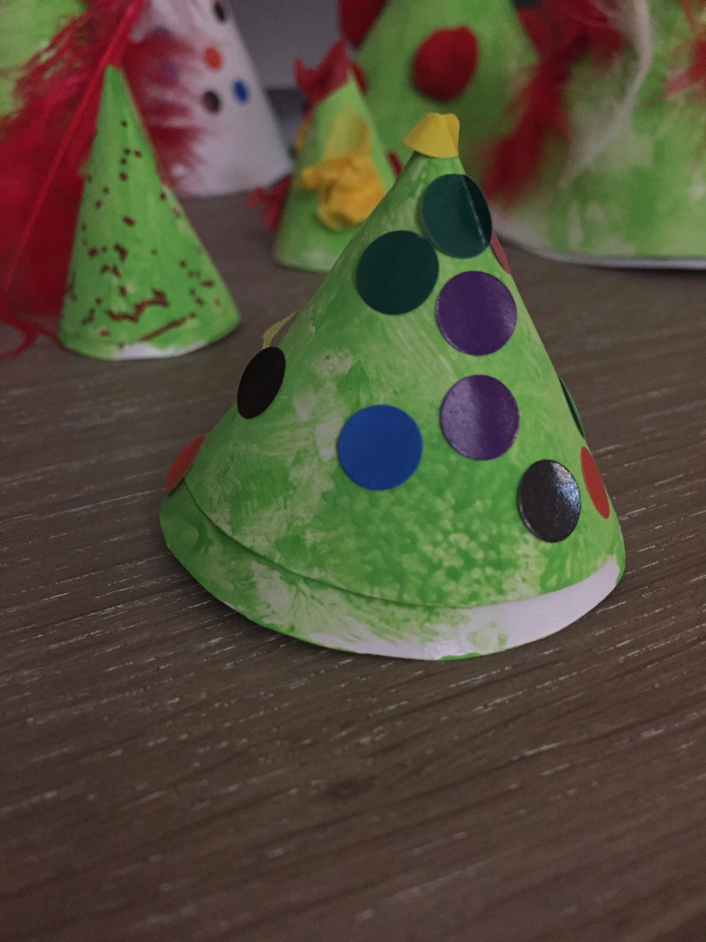 forêt de Noël décoration enfant