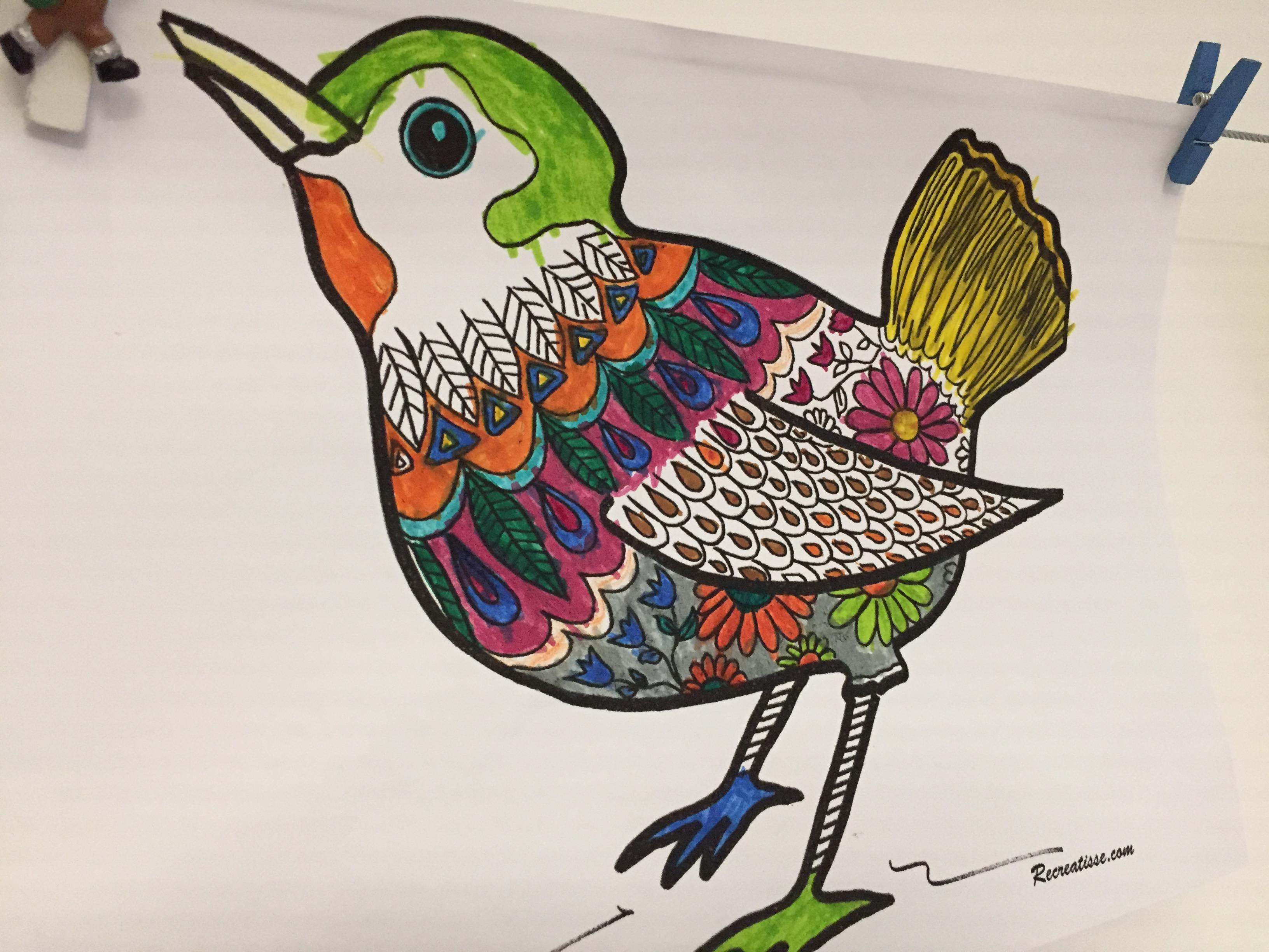 Coloriage De Printemps Primaire.Oiseau Du Printemps Les Activites De Maman