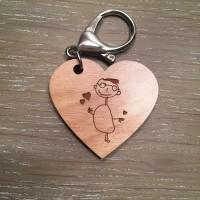 Porte-clés happybulle