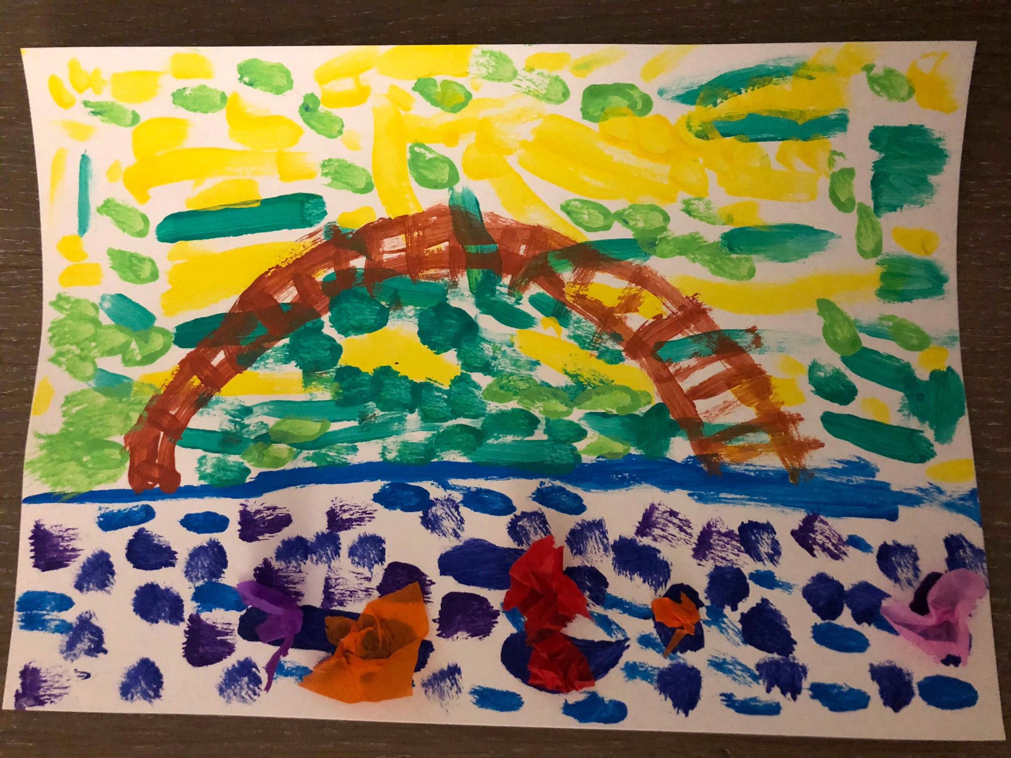 Claude Monet Les Activites De Maman