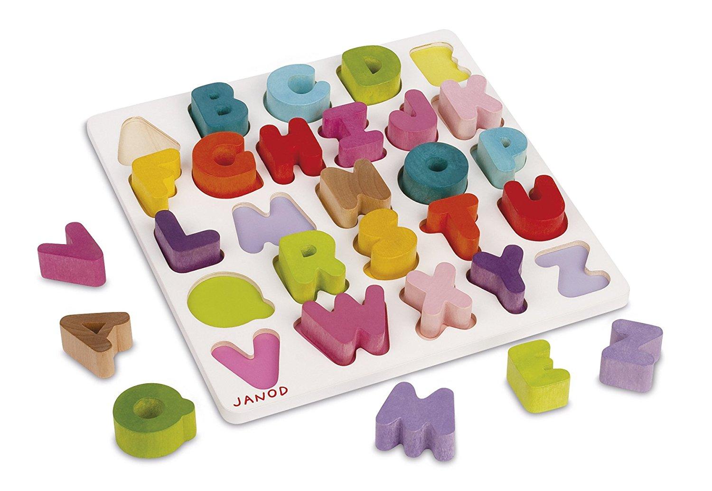 alphabet janod bois fiches travail montessori