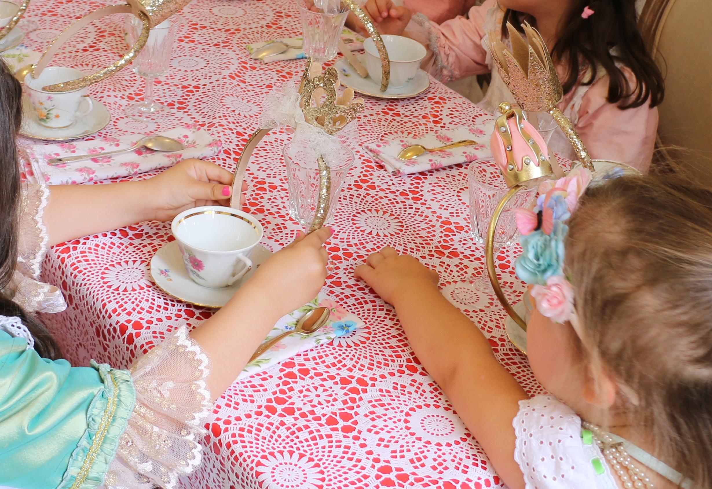oh my princess fête filles anniversaire