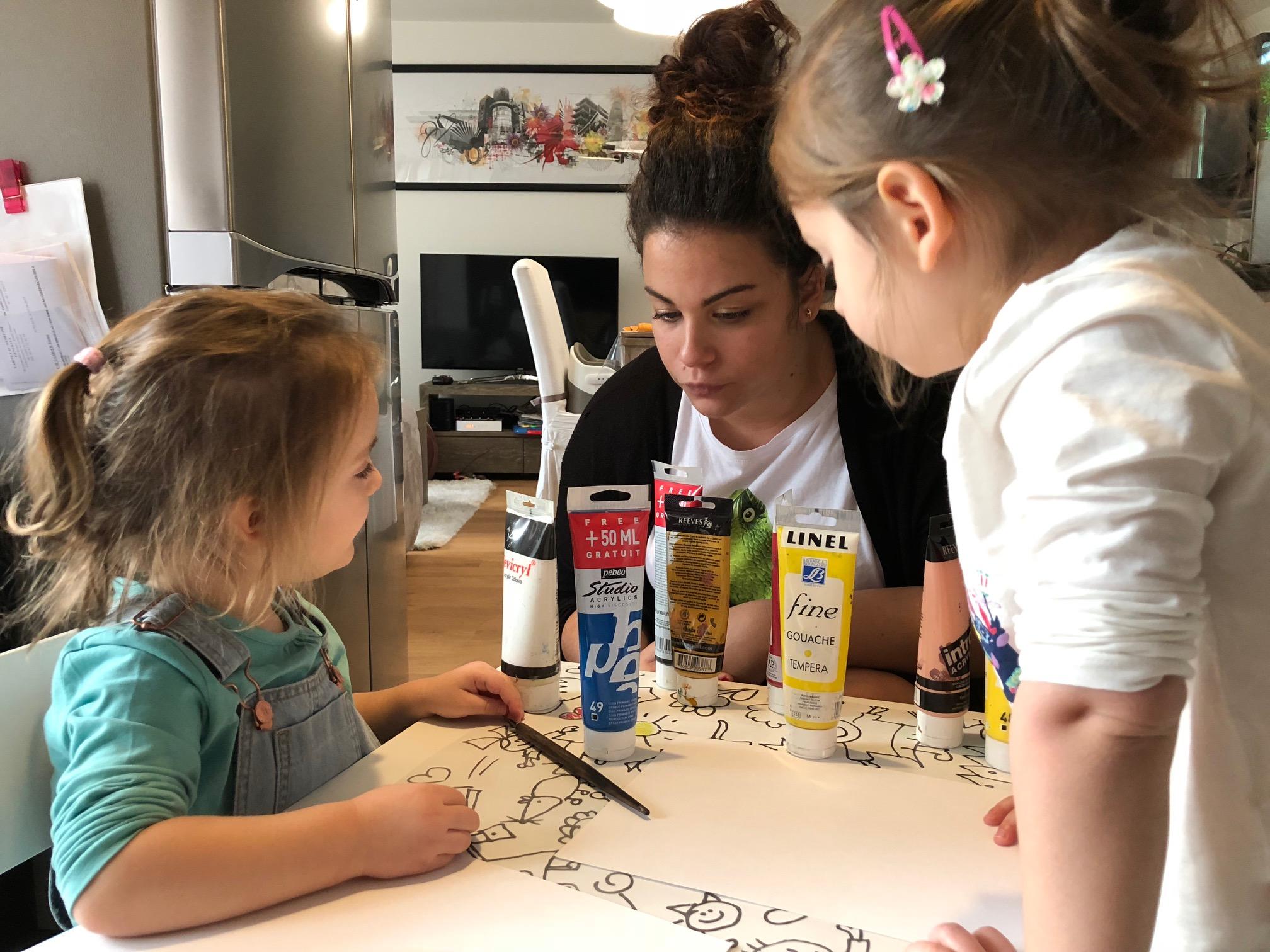 Le smarsitting garde enfant montessori