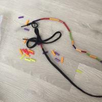 jeu lacet pailles