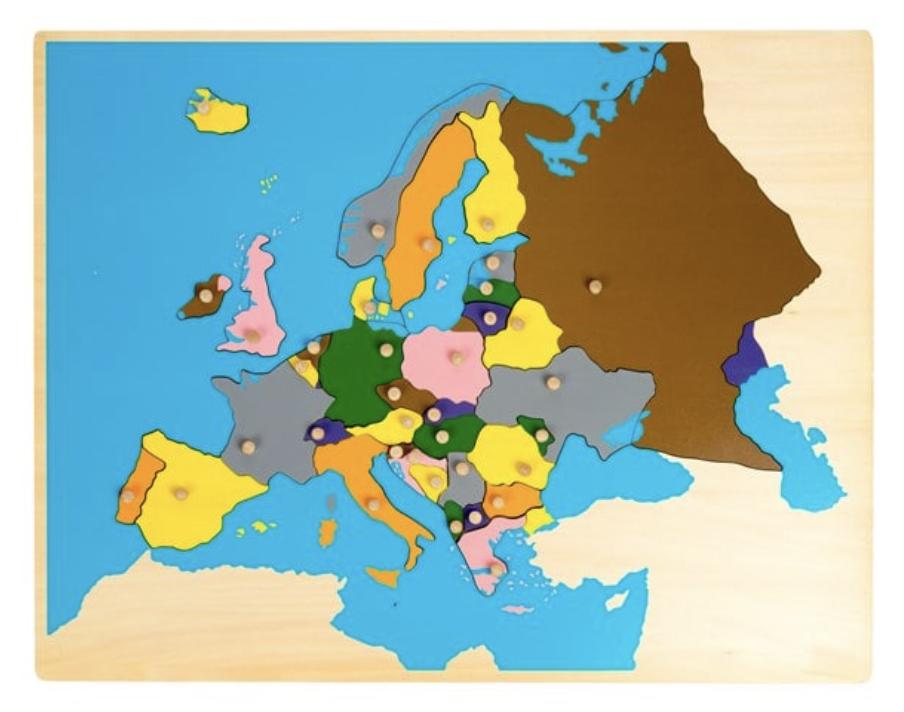 liste de noël carte europe