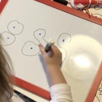 apprentissage maternelle instruction en famille nombre écriture Chiffre 8