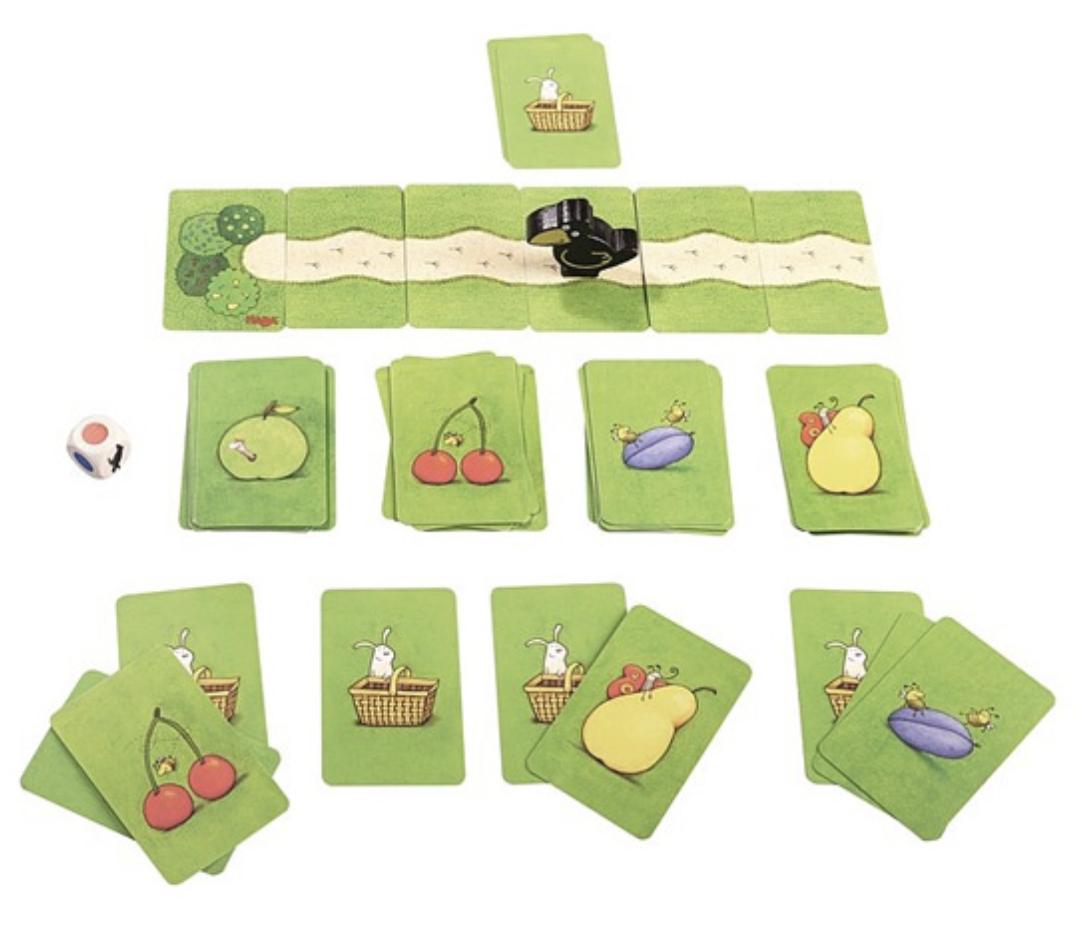 le verger jeu de cartes haba
