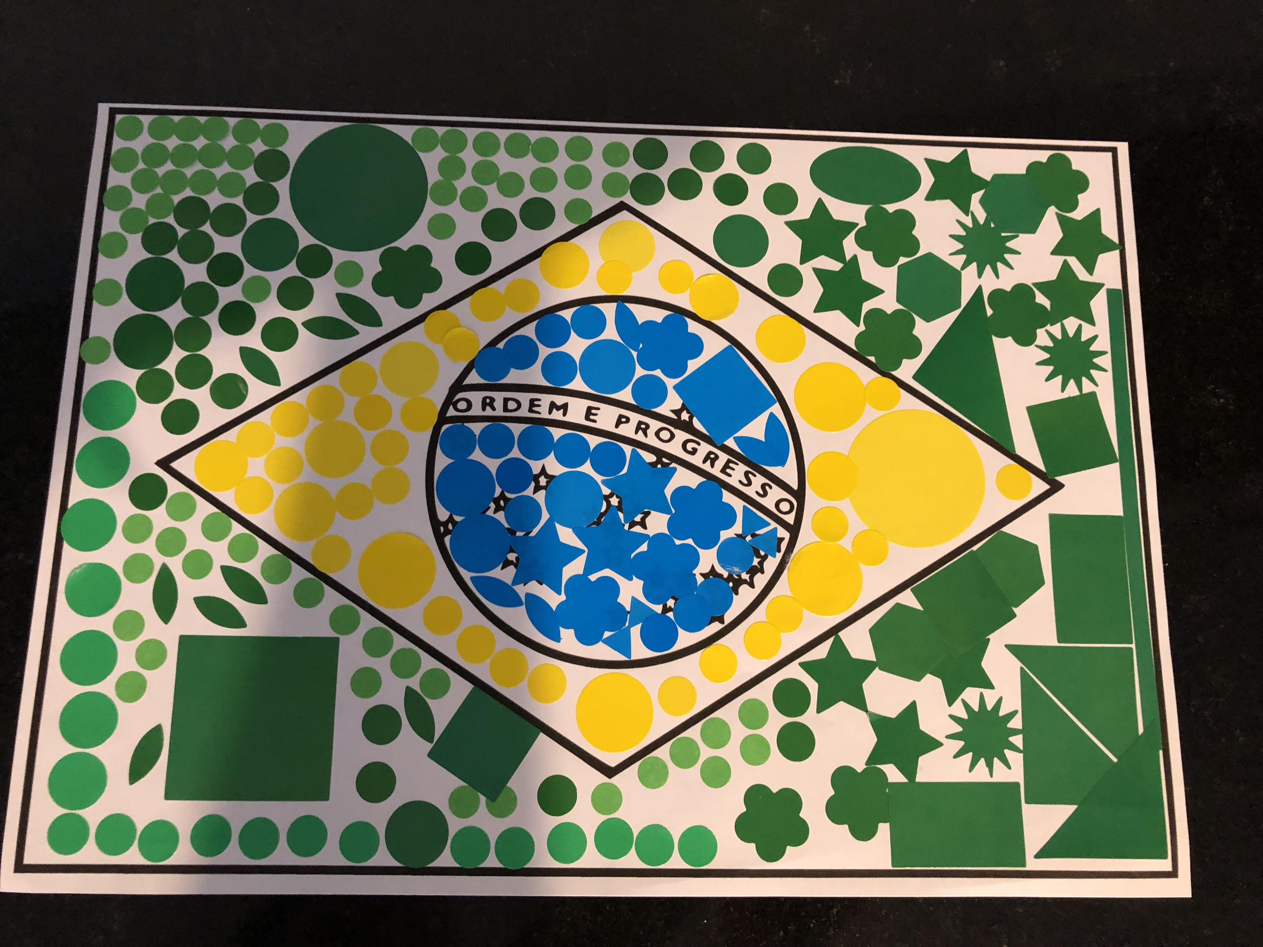 tour du monde ief activité drapeau brésil