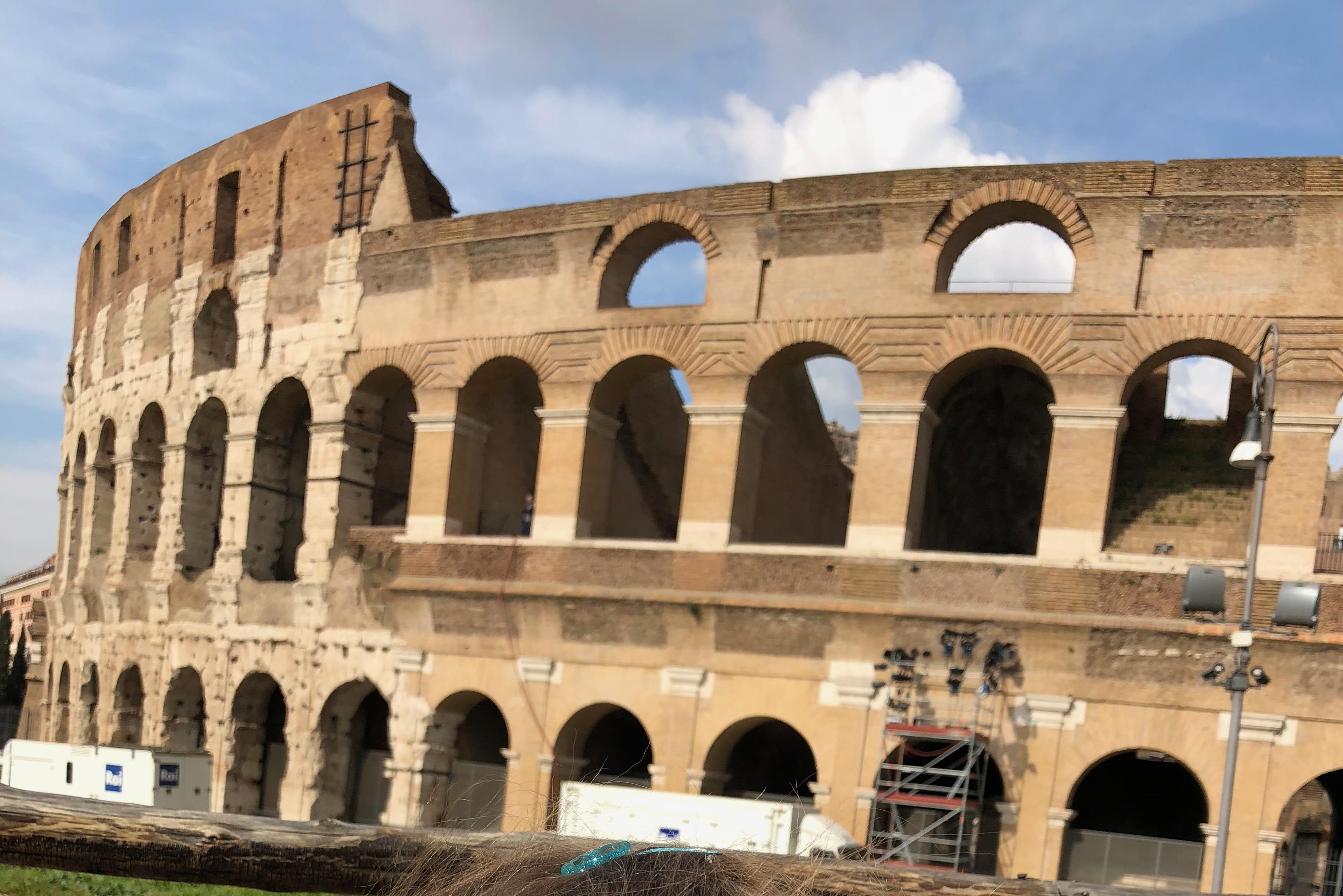 Italie avec les enfants Colisée découverte