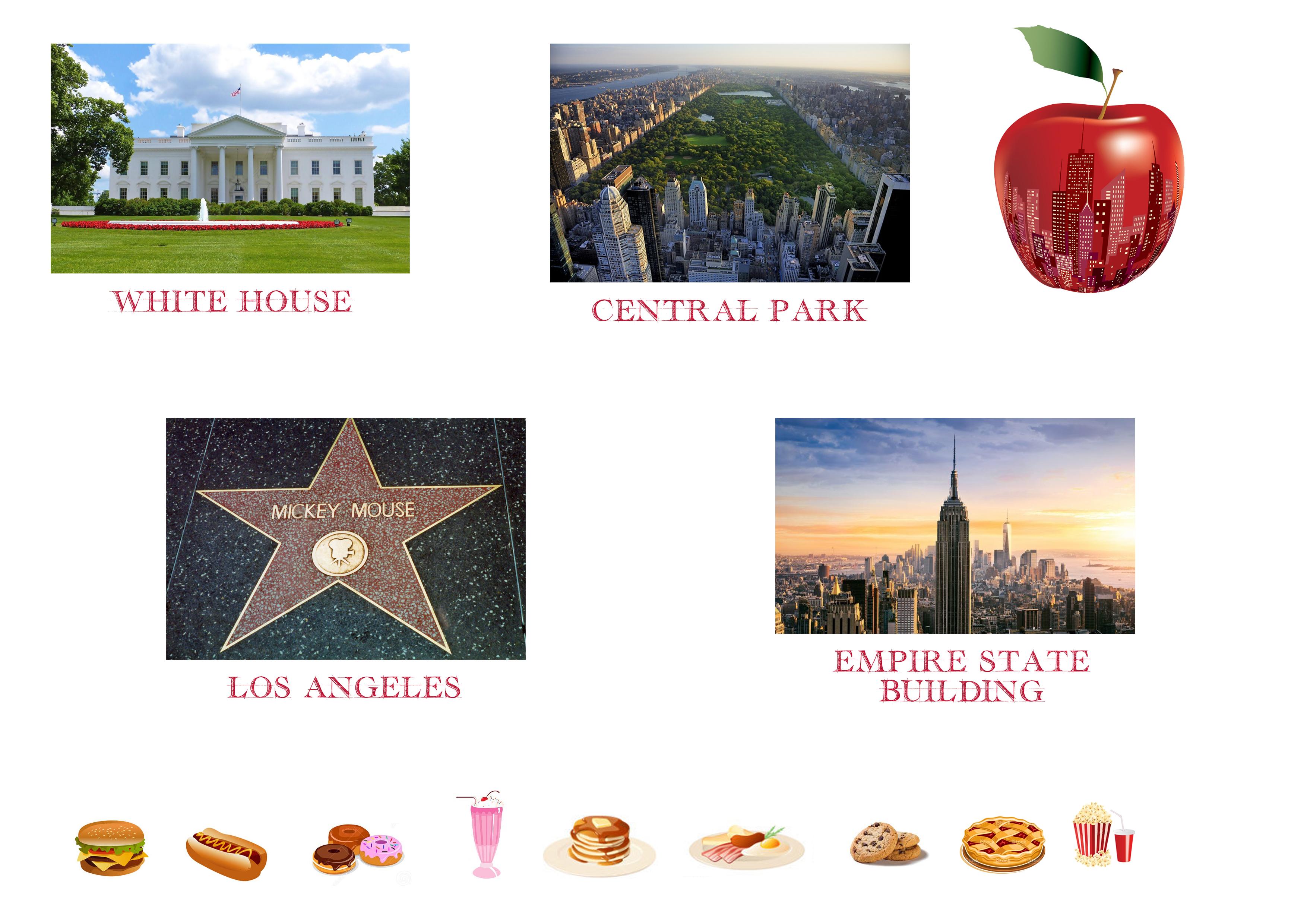 Lapbook USA ief monuments nomenclature montessori