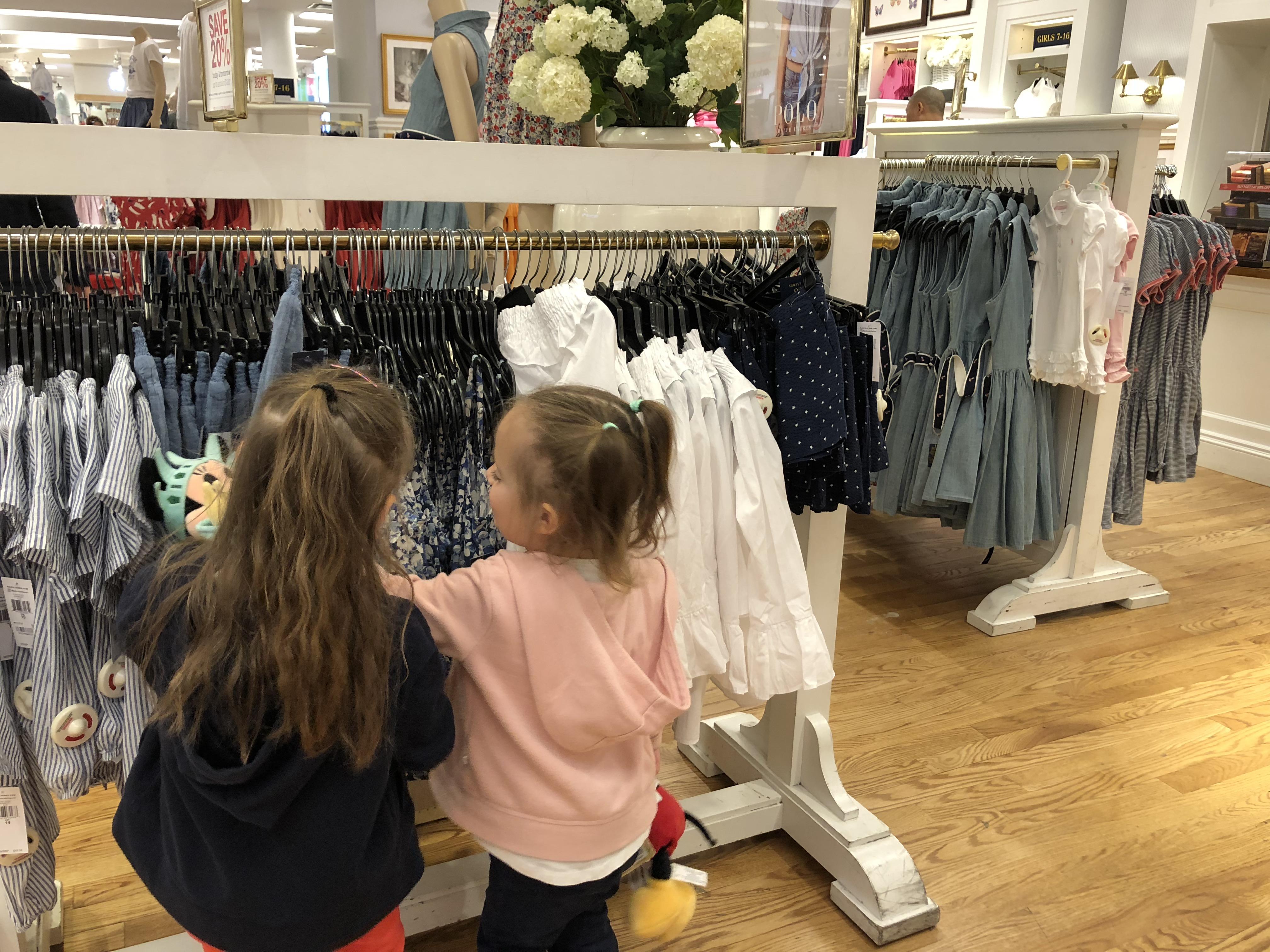 visiter new York avec les enfants boutiques
