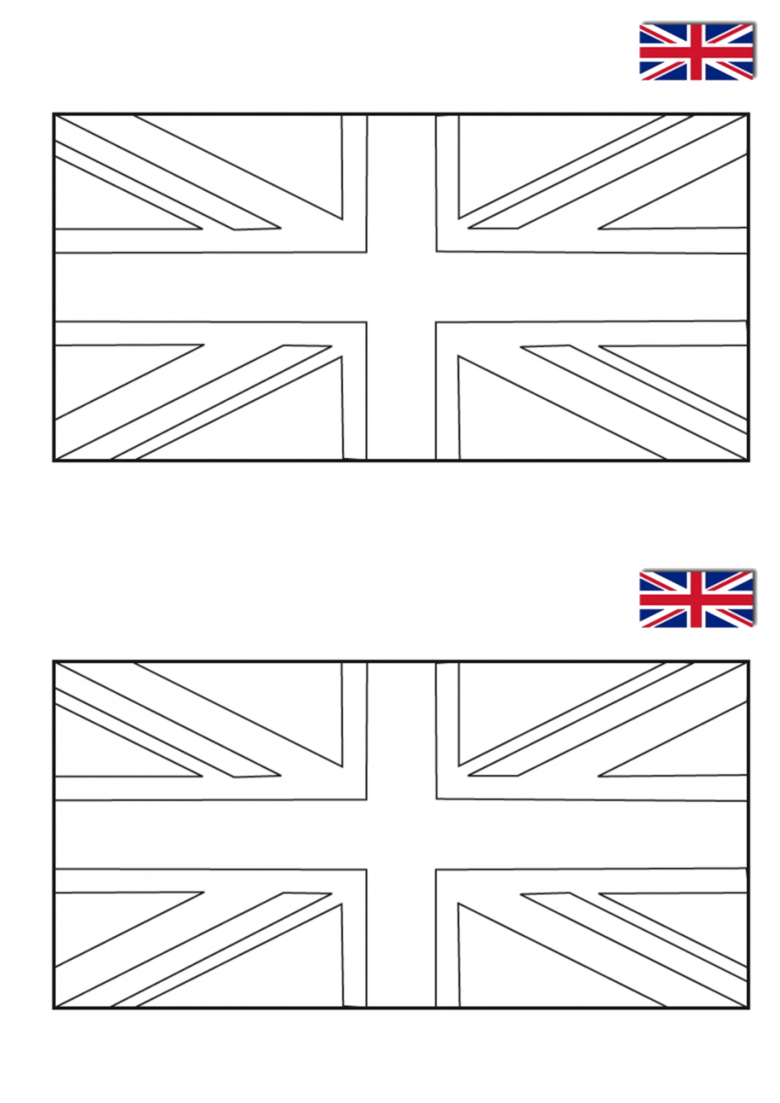 lapbook royaume-uni drapeau