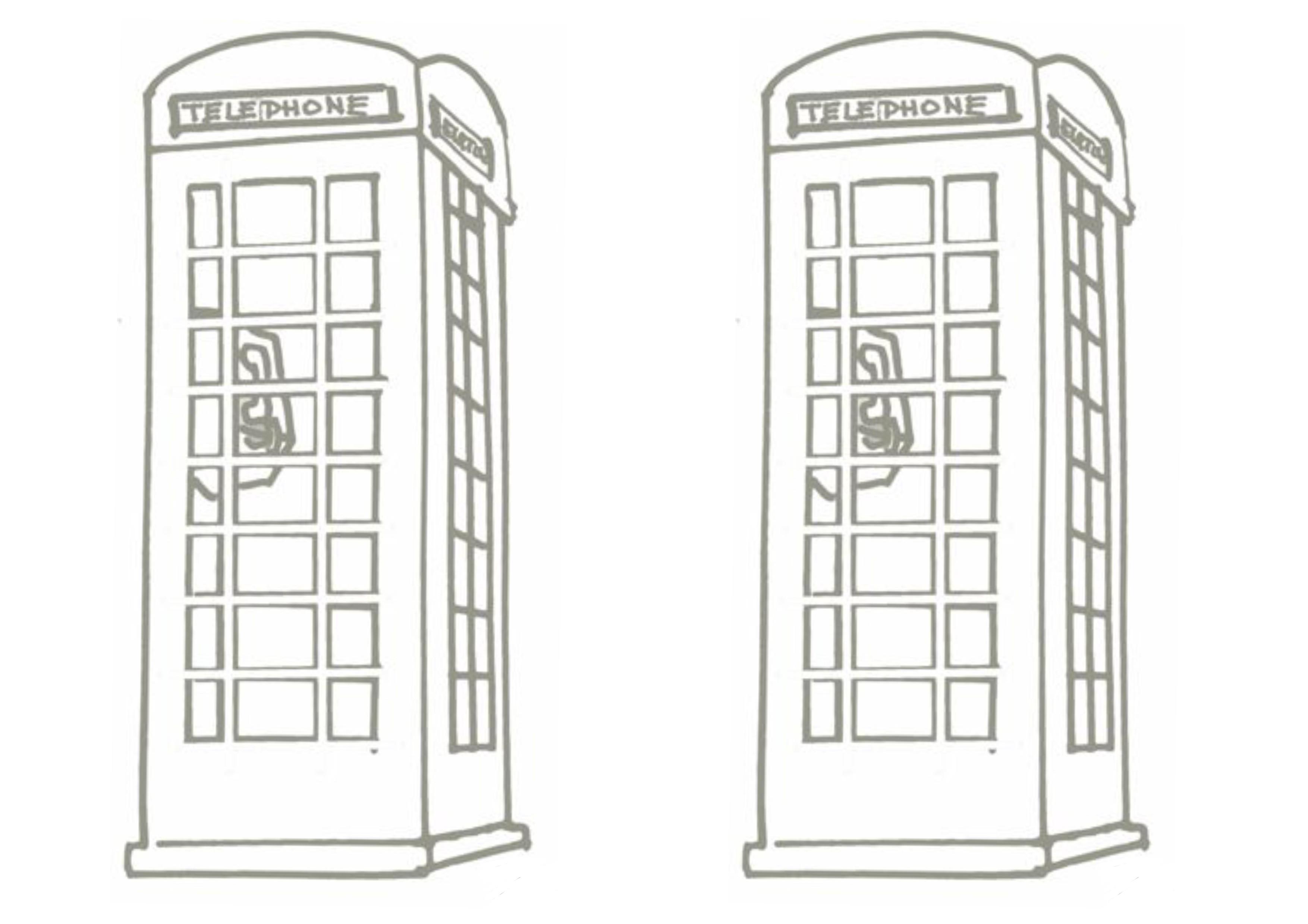 lapbook royaume-uni cabine téléphonique