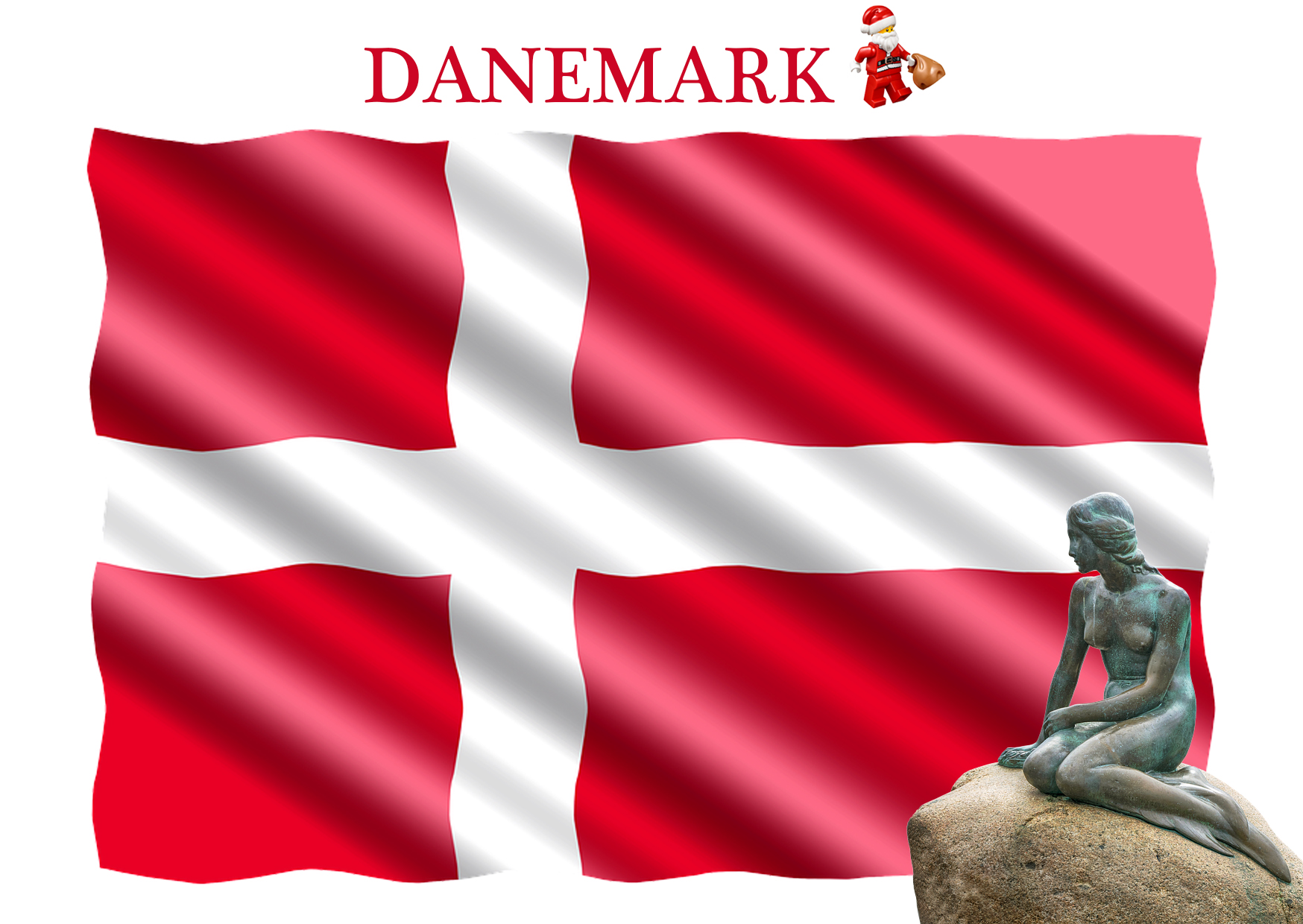Isil elfe carte postale Danemark